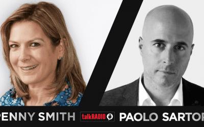 talkRADIO: Penny Smith interviews TWC's Paolo Sartori